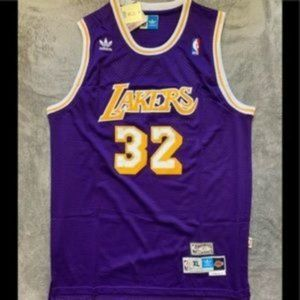 Magic Johnson #32 Los Angeles Lakers Jersey